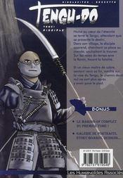 Tengu-do t.1 ; disciples - 4ème de couverture - Format classique