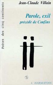 Parole Exil - Intérieur - Format classique