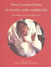 Le Gospel Afro-Americain (+1 Cd) - Intérieur - Format classique