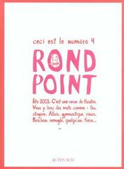 Revue Du Rond Point N 4  - Collectif