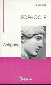 Sophocle, Antigone - Couverture - Format classique