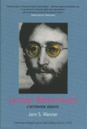 Vente  Lennon remembers ; l'interview inédite  - Jann S. Wenner
