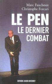 Le pen, le dernier combat - Intérieur - Format classique