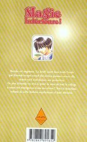 Magie intérieure t.2 - 4ème de couverture - Format classique