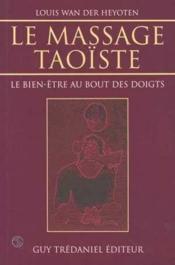 Le Massage Taoiste - Couverture - Format classique