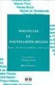 Nouvelles Et Nouvellistes Belges Essai D'Encyclopedie Critique - Intérieur - Format classique