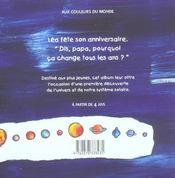 Léa découvre l'univers - 4ème de couverture - Format classique