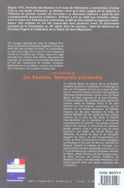 Revue Formules ; Le Goût De La Forme En Littérature ; Ecritutres Et Lectures A Contraintes ; Colloque De Cerisy - 4ème de couverture - Format classique