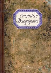 Cuisinière bourguignonne - Couverture - Format classique