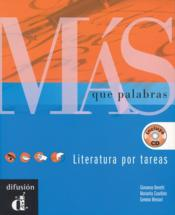 Mas Que Palabras Libro + Cd - Couverture - Format classique