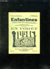 Enfantines N° 33 Octobre 1934.En Foret. - Couverture - Format classique