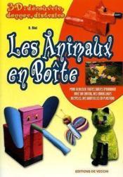 3d Animaux En Boites - Couverture - Format classique