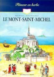 Flaneur En Herbe - Le Mont-Saint-Michel - Couverture - Format classique
