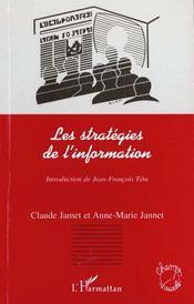 Les Strategies De L'Information - Intérieur - Format classique