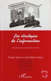 Les Strategies De L'Information - Couverture - Format classique