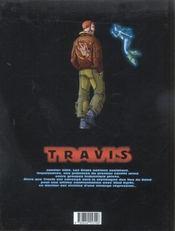 Travis t.3 ; agent du chaos - 4ème de couverture - Format classique