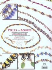 Perles Sur Agrafes - 4ème de couverture - Format classique
