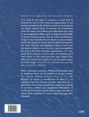 Les contes du cahier vierge - 4ème de couverture - Format classique