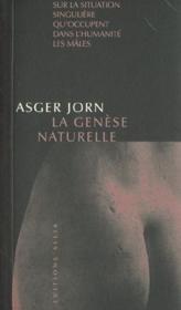La génèse naturelle - Couverture - Format classique