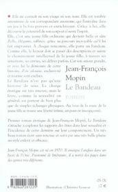 Bandeau - 4ème de couverture - Format classique
