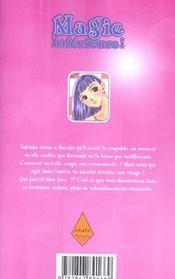 Magie intérieure t.3 - 4ème de couverture - Format classique