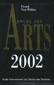 Annuel Des Arts 2002 - Intérieur - Format classique