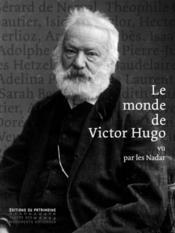 Le monde de Victor Hugo - Couverture - Format classique