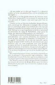 La nuit des girondins - 4ème de couverture - Format classique