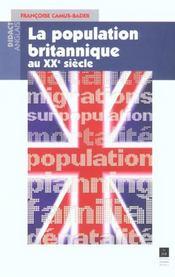 La population britannique au XXe siècle - Intérieur - Format classique
