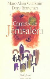 Jerusalem mon amour - Intérieur - Format classique