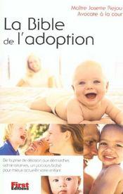 La bible de l'adoption - Intérieur - Format classique