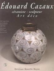 Edouard Cazaux - Couverture - Format classique