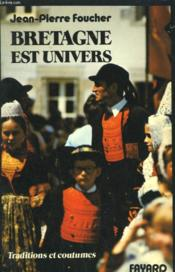 Bretagne Est Univers. - Couverture - Format classique