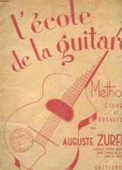 L'Ecole De La Guitare - Methode Etudes Et Exercices - Couverture - Format classique