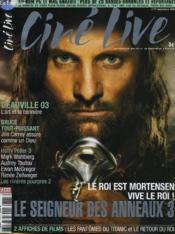 Cine Live - N° 71 - Le Seigneur Des Anneaux 3 - Couverture - Format classique