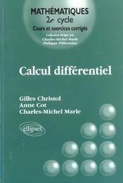 Calcul Differentiel Cours Et Exercices Corriges - Intérieur - Format classique
