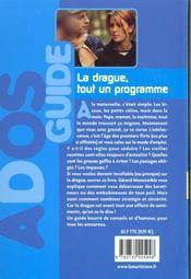 Drague Tout Un Programme (La) - 4ème de couverture - Format classique