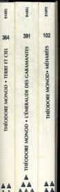 Coffret Theodore Monod ; Meharees ; L'Emeraude Des Garamantes ; Terre Et Ciel - Couverture - Format classique