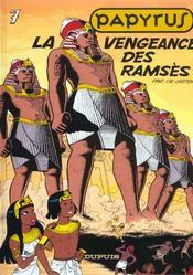 Papyrus t.7 ; la vengeance de Ramsès - Intérieur - Format classique