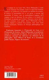 La Mort De Louis Xvi - 4ème de couverture - Format classique