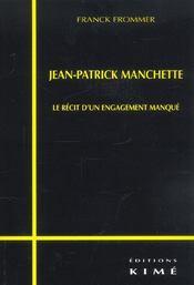 Jean-Patrick Manchette - Intérieur - Format classique