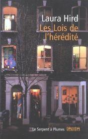 Les Lois De L Heredite - Intérieur - Format classique