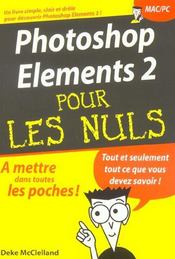 Vente livre :  Photoshop elements 2  - Deke Mcclelland