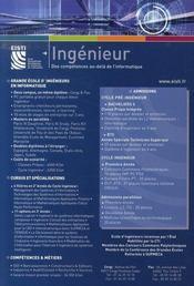 Les Ecoles D'Ingenieurs - 4ème de couverture - Format classique
