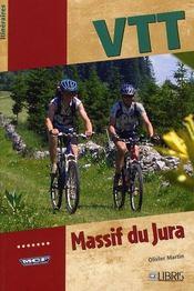 VTT dans le Jura ; France et Suisse - Intérieur - Format classique