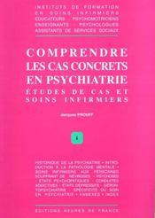 Comprendre Cas Concrets En Psychiatrie - Intérieur - Format classique