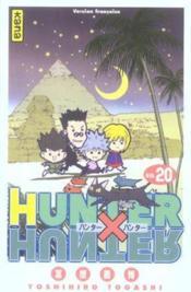Hunter X Hunter T20 - Couverture - Format classique