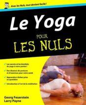 Yoga pour les nuls - Couverture - Format classique