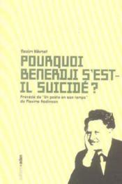 Pourquoi benerdji s'est-il suicide ? - Couverture - Format classique