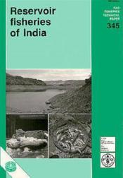 Reservoir fisheries of india ; fao fisheries technical paper n.345 - Couverture - Format classique
